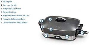 presto foldaway skillet features