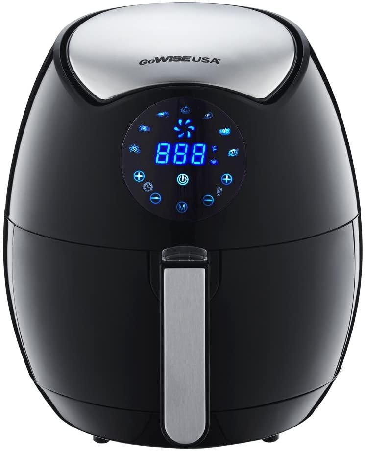 GoWise GW22621 Electric Air Fryer 3.7 QT Black